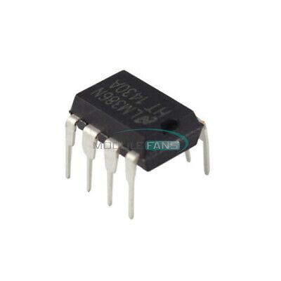 100pcs Lm386n Lm386 Dip-8 Audio Power Amplifier Ic Test Equipment