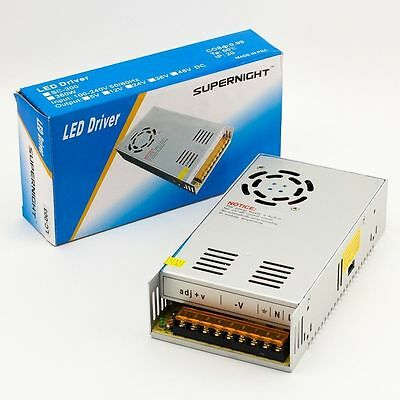 Supernight Regulated Switching Power Supply Dc 12v 30a 360w For Led Strip Light