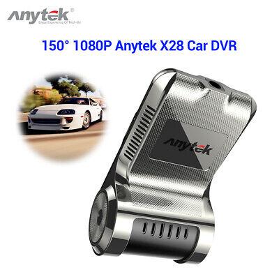 Anytek X28 FHD 1080P 150 ° WiFi Auto Dash Cam Recorder Automatische Video-Loop- Automatische Video