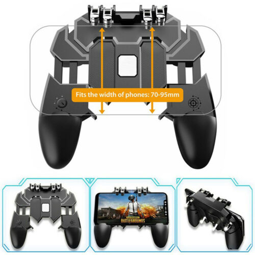 AK66 Mobile Phone Game Controller Gamepad Joystick for IOS Android PUBG Fortnite Controllers & Attachments