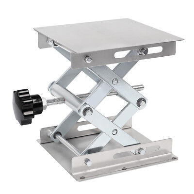 6 8 Stainless Steel Lifting Platforms Lab-lift Stand Rack Scissor Lab Jack