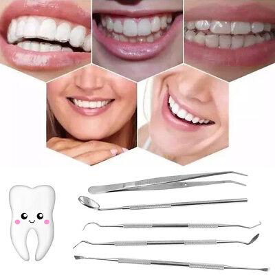 Best 5 Pack Dental Teeth Cleaning Tools Tartar Plaque Remover Scraper Picks Kit