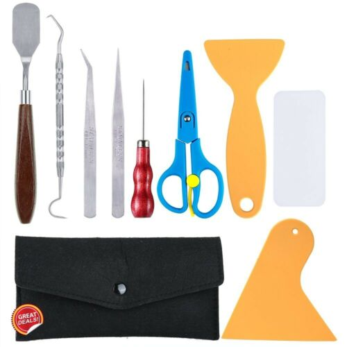 Cricut Tool Kit Set Basic Weeding Essential Vinyl Wrap Scraper Spatula Case New