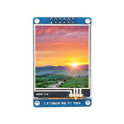 1.8in Tft Lcd Touch Screen Display Module St7735 128160 Spi Rgb For Arduino