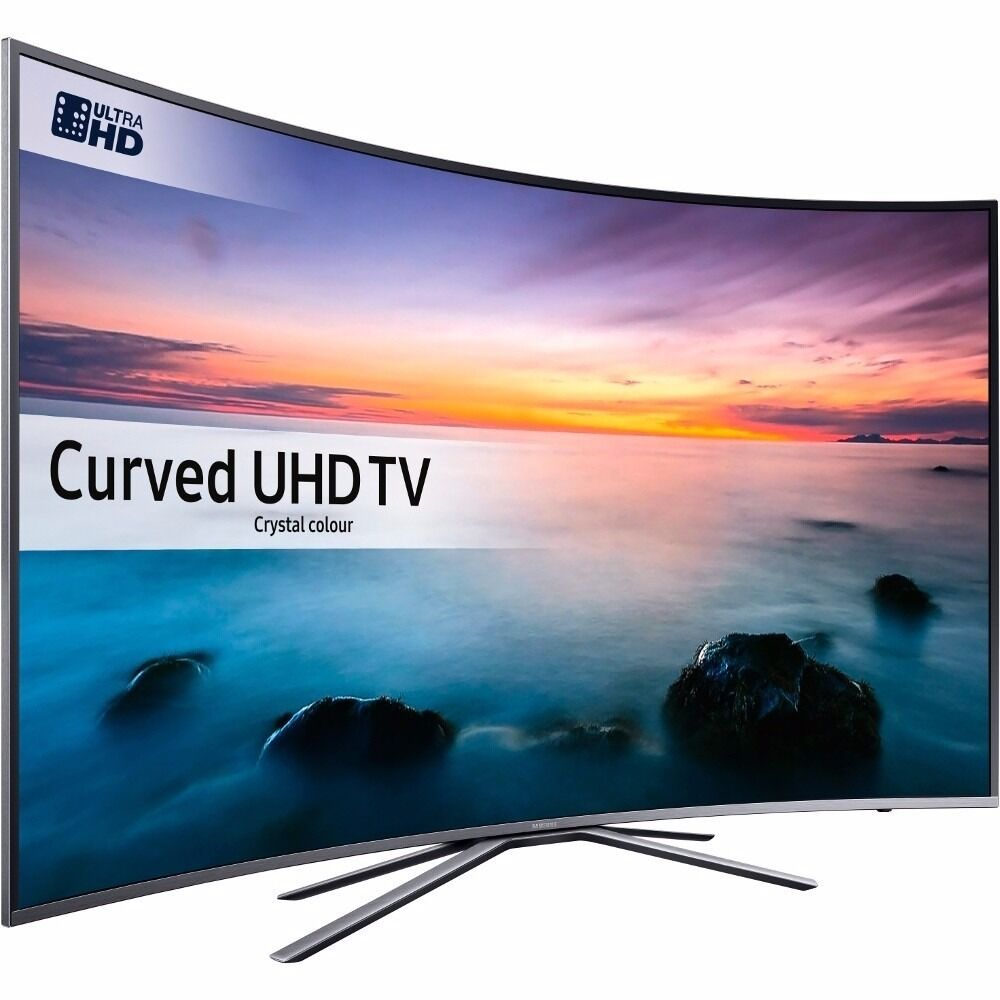 samsung ue55ku6500 55 inch curved 4k ultra hd hdr smart led tv freeview hd freesat hd in. Black Bedroom Furniture Sets. Home Design Ideas