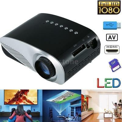 1080P Home Theater Cinema USB AV VGA SD HDMI Mini Portable Full HD LED Projector