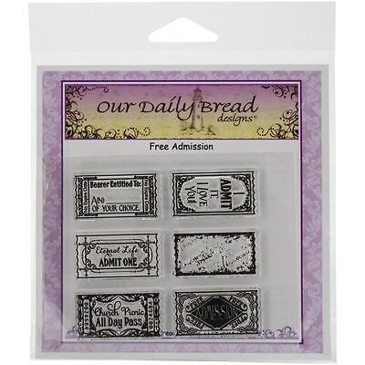 Our Daily Bread Clear Stamps Free Admission   New