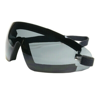 Bobster Wrap Around Goggles (Black Frame, Smoke Lens)