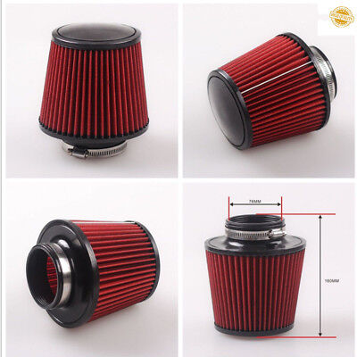 Universal K&N Cold Air Filter Intake Induction Kit Cone Style