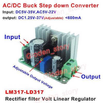 Ac-dc Power Supply Module Rectifier Filter Volt Linear Regulator 3.3v 5v 12v 24v