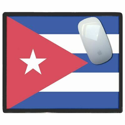 Cuba Flag - Thin Pictoral Plastic Mouse Pad Mat Badgebeast