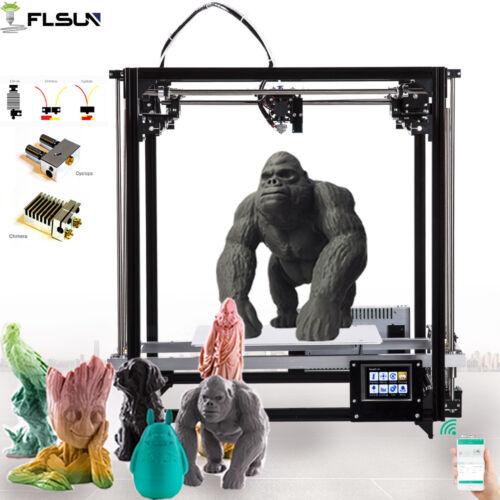 Flsun 260*260*350mm Cube 3D Printer TFT Color Touch& Dual Ex