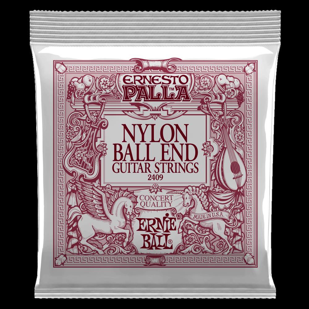 Ernie Ball Ernesto Palla Nylon Black and Gold Classical Ball