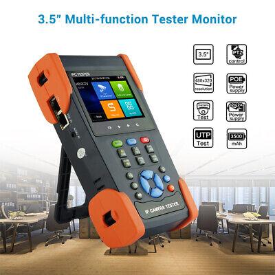 3.5 Touch Screen Cctv Camera Tester Analog Utc Control Tvi Ip Camera Tvi Tester
