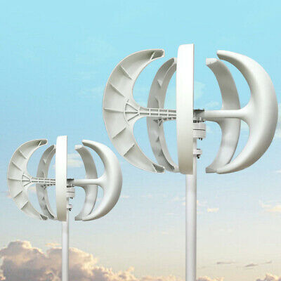 Wind Turbine Generator 600w 12v 24v Wcontroller Wind Power Vertical Axis