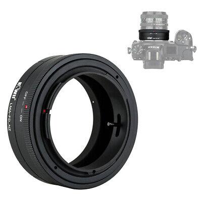 Lens Mount Adapter for Canon FD Mount Lenses to Nikon Z Mount Camera Body Z7 (Canon Fd Lens To Nikon Body Mount Adapter)