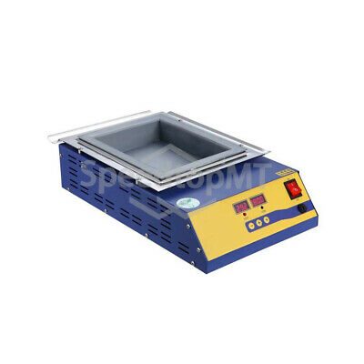 New Solder Pot Desoldering Bath Melting Tin 1500w 9800g Lead-free Square 220v