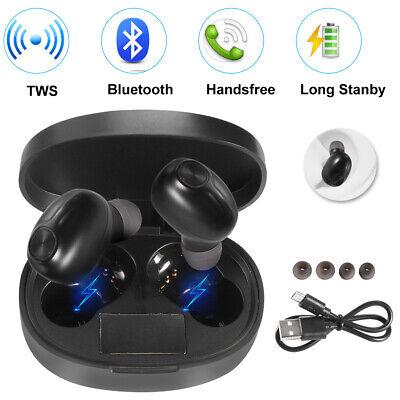 Bluetooth 5.0 Wireless Earbuds Earphones TWS Stereo Bass In-Ear Headphones Best