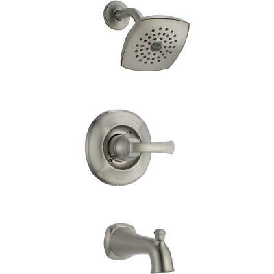Delta Mandara Single-Handle 1-Spray Tub and Shower Faucet in Brushed Nickel