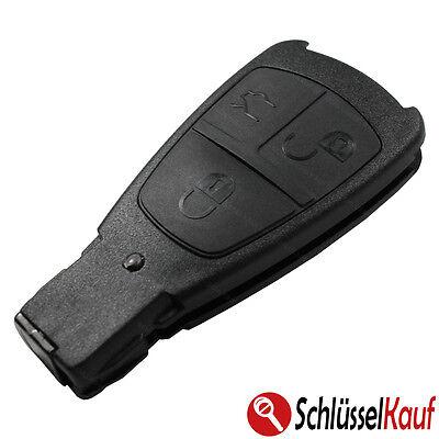 Autoschlüssel 3 Tasten Gehäuse lang NEU passend für Mercedes W202 W208 W210 W220