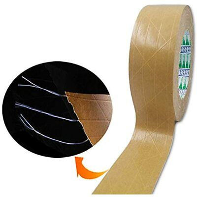 Elepa Reinforced Kraft Paper Tape-2 Inch X 165 Feet-self Adhesive Packaging Used