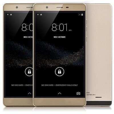 6  Unlocked Android 5 0 Smart Phone Dual Sim 3G Gsm Gps Best Cell Phone Gold