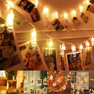 Halloween 2 Movie Clips (20x LEDs Photo Clip String Lights Window Picture Fairy Party Home Decoration)