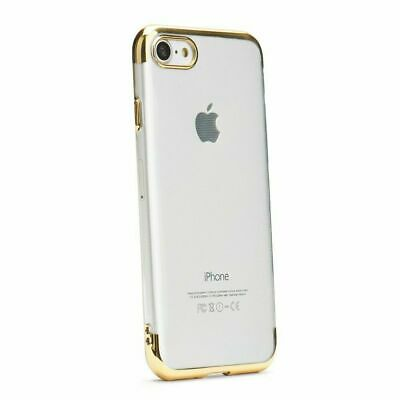 Bumper Plating Soft TPU Handy Back Case Hülle Tasche Gold Für Samsung Galaxy A20 - Soft Tpu Bumper Case