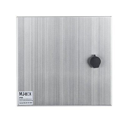 Stainless Steel Electric Box 12 X 8 X 6in Ip66 16 Gauge