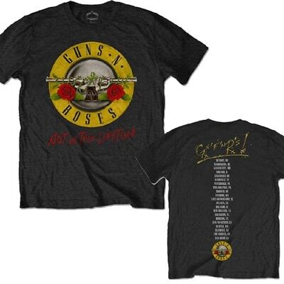 Guns N Roses Not In This Lifetime Tour Band Logo Official Tee Adult XXL T-Shirt