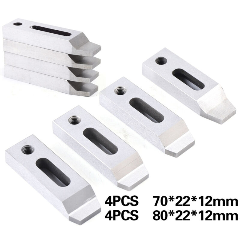 4pcs CNC Cut Wire EDM Machine Jig Holder For Clamping & Leveling M8 Screw Size