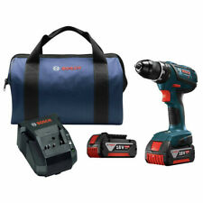 Bosch 18V 4.0 Ah Compact Tough Cordless Li-Ion 1/2 in. Drill Driver Kit Recon