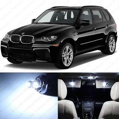 22 x Error Free White LED Interior Light Package For 2007 - 2013 BMW X5 + TOOL