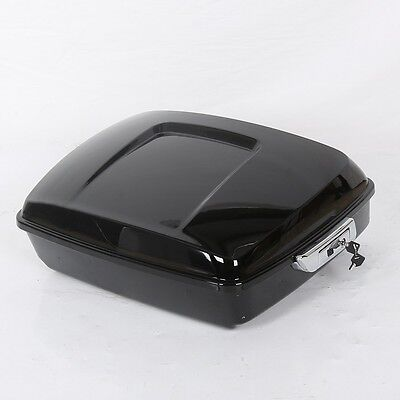 Chopped Tour Pack Case Pak Trunk Tail Box For Harley Touring Models 14-17 15 16