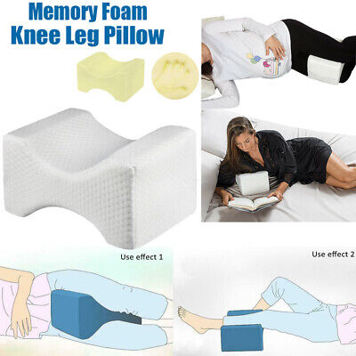 Best Memory Foam Contour Knee Leg Pillow Orthopaedic Firm Relief Back Hips