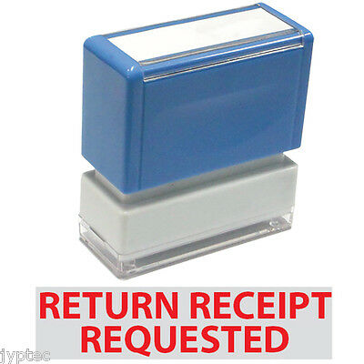 Return Receipt Requested - Jyp Pa1040 Pre-inked Rubber Stamp