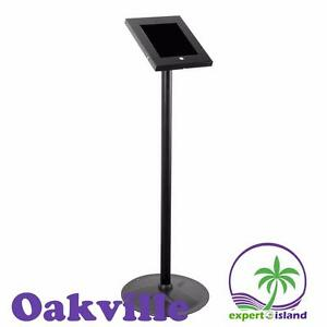 PYLE (PSPADLK45) Tamper-Proof Anti-Theft iPad Kiosk Safe Security Public Floor Stand, Holder, Public Display Case