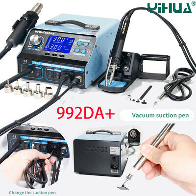 992da Bga Rework Soldering Station Smd Hot Air Gun Solder Iron Pen Repair Board
