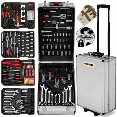 Best Tool Kit 799 Pieces Box Storage Trolley Garage Mobile Workshop Home Gift