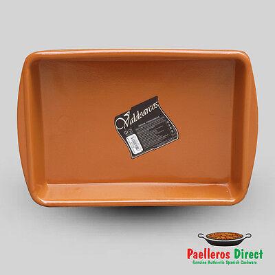Spanish Terracotta Lasagne Dish - 32cm x 23cm
