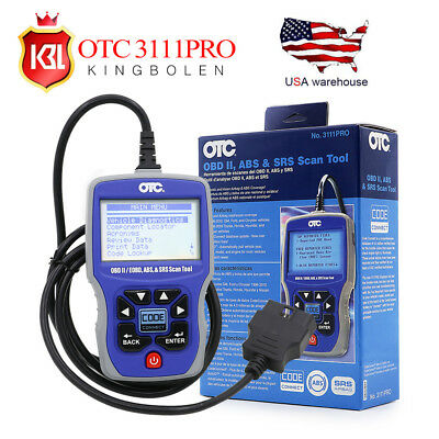 OTC 3111 PRO OBD2 Diagnostic Scanner CAN ABS SRS Car&Truck Code Reader Scan Tool