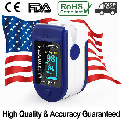 Finger Pulse Oximeter Blood Oxygen Spo2 Pr Respiratory Rate Monitor Fdace Us A