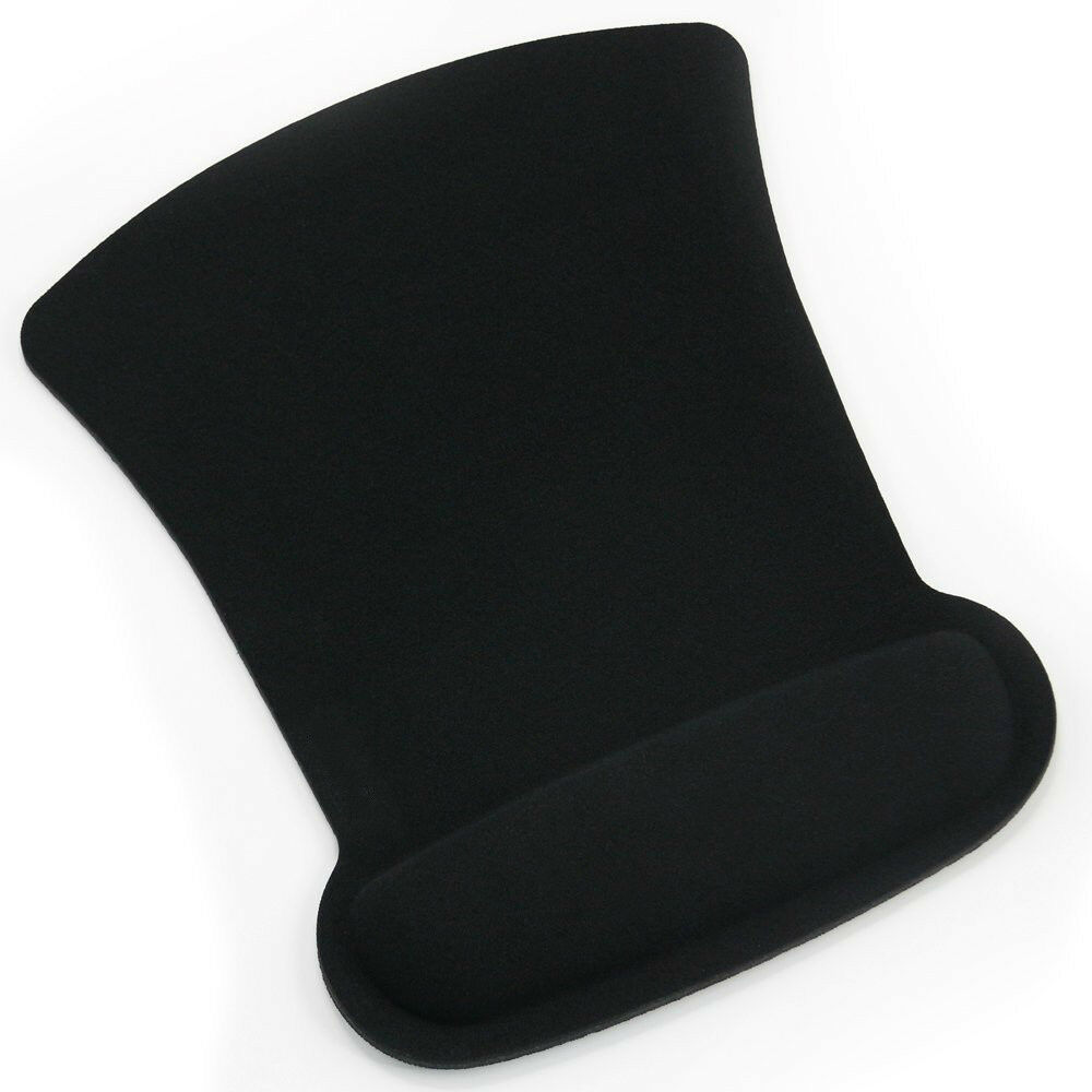 Cozy Wrist Rest Support Mouse Mat Game Mice Pad for PC Lapto