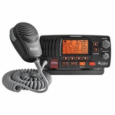 Cobra MRF57B VHF Class-D Marine Boating Radio NOAA Weather Channels Sea Tow®