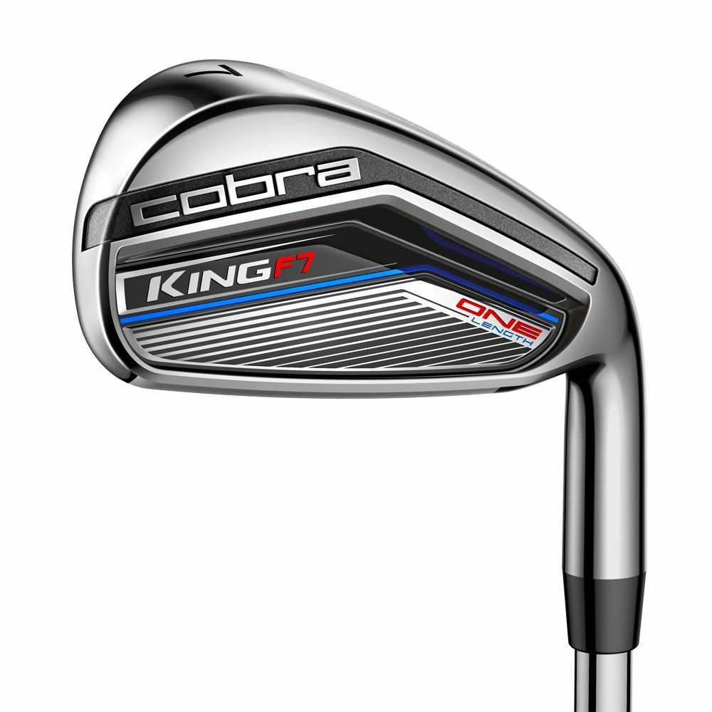 New Cobra King F7 One-Length Iron Set 5-GW Steel Irons - Cho