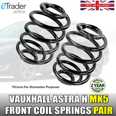 Vauxhall Astra H 1.6 1.8 MK5 Front Coil Springs *FACTORY LOWERED SUSPENSION* SRI