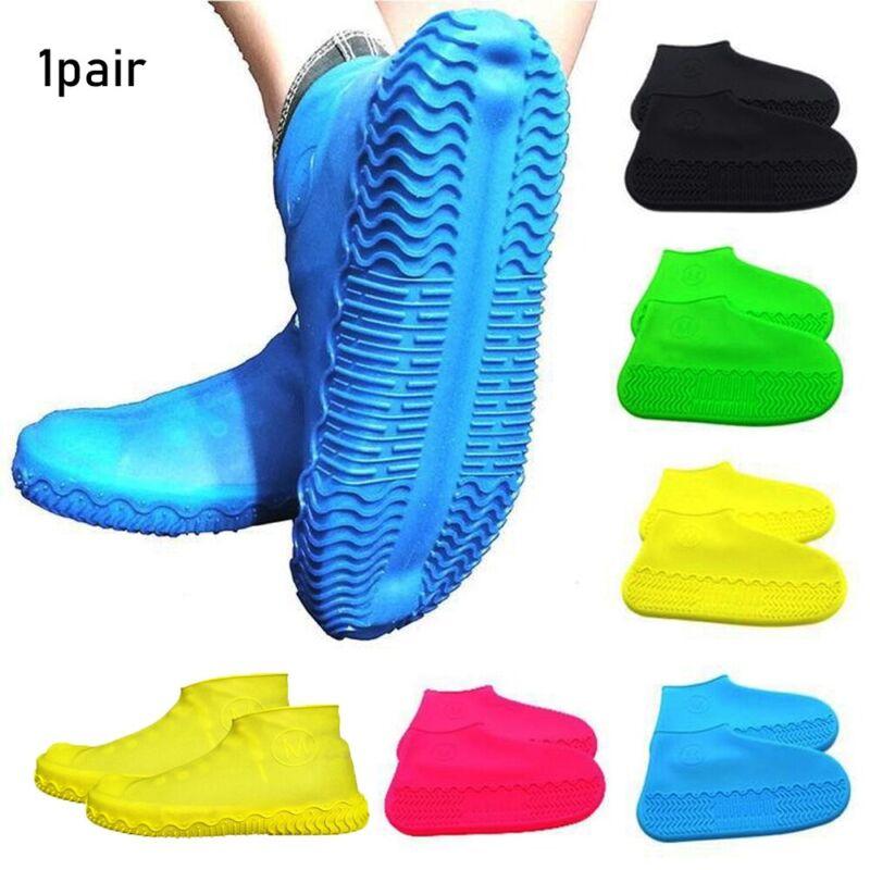 Zubehör wiederverwendbar Cover von Regenbooten Schuhe decken Silicon Overshoes