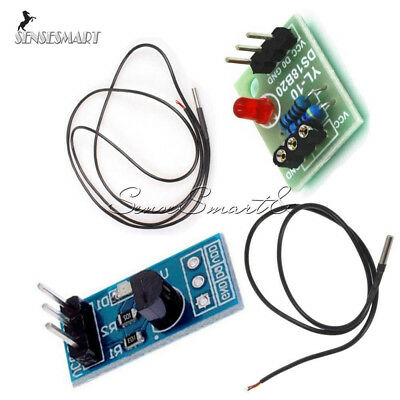 Ds18b20 12m Temperature Sensitive Module Thermometer Waterproof Cable Probe