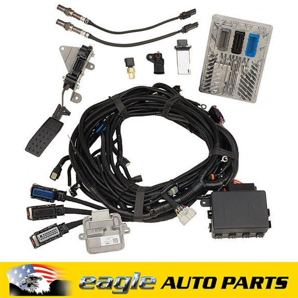 details about chev lt4 6 2l 650hp engine controller kit chevrolet performance 19331517 Vehicle Trailer Wiring Harness