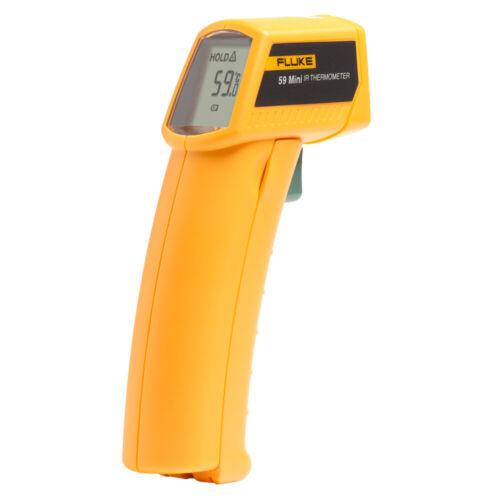 FLUKE 59 MINI INFRARED THERMOMETER w/ LASER SIGHT °C/°F SWITCH -18°C~275°C RANGE